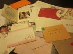 たくさんの手紙たち